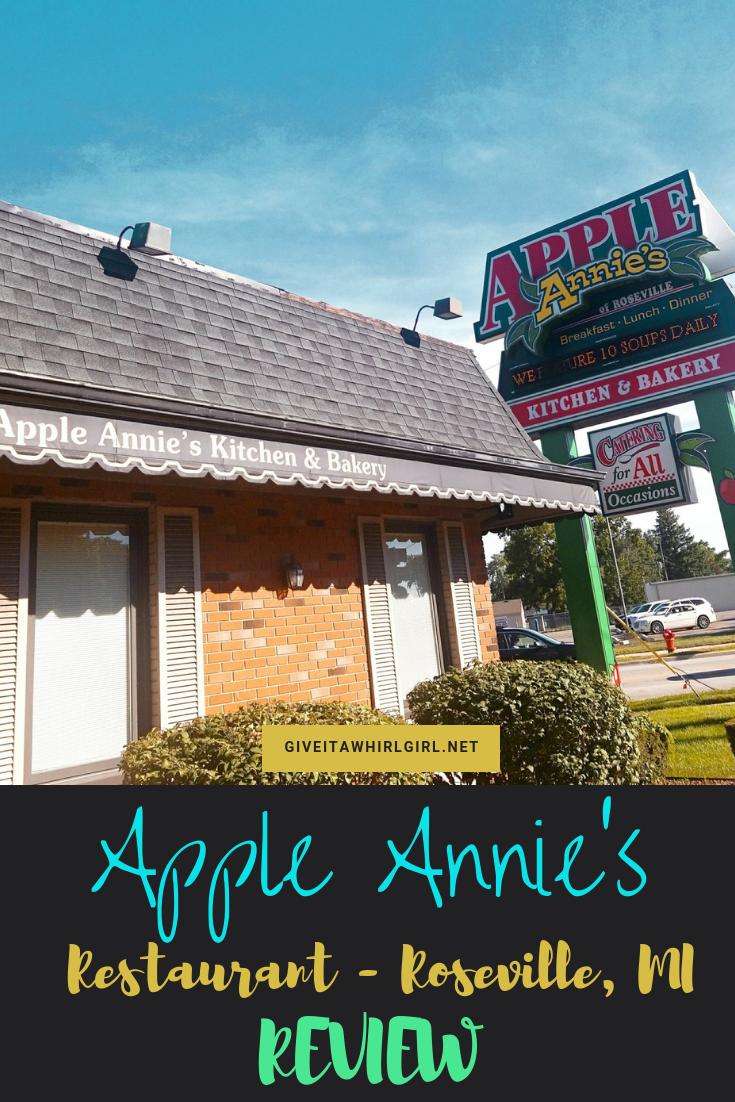 Apple Annie's Restaurant REVIEW Roseville, MI