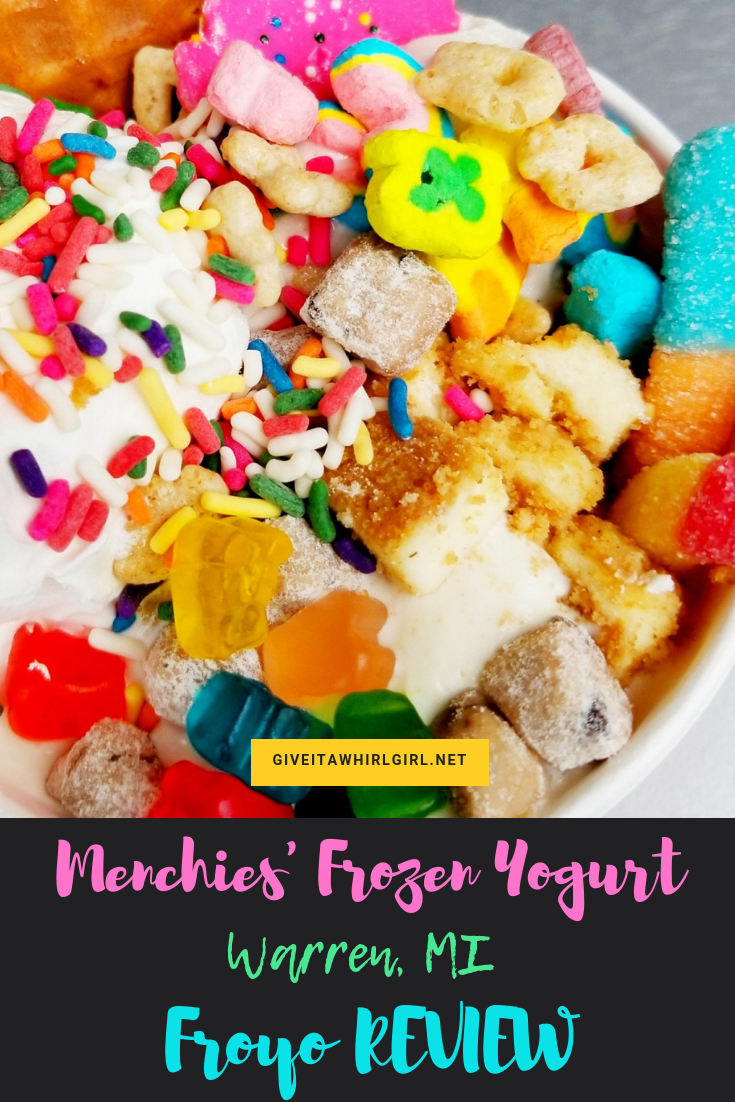 Menchie's Frozen Yogurt (FROYO) REVIEW (Warren, MI)