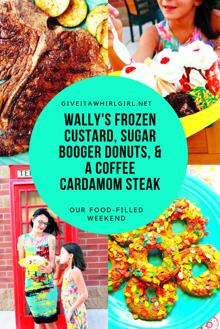 Wally's Frozen Custard, Sugar Booger Donuts, & Coffee Cardamom Steak – Foodie Weekend Adventure