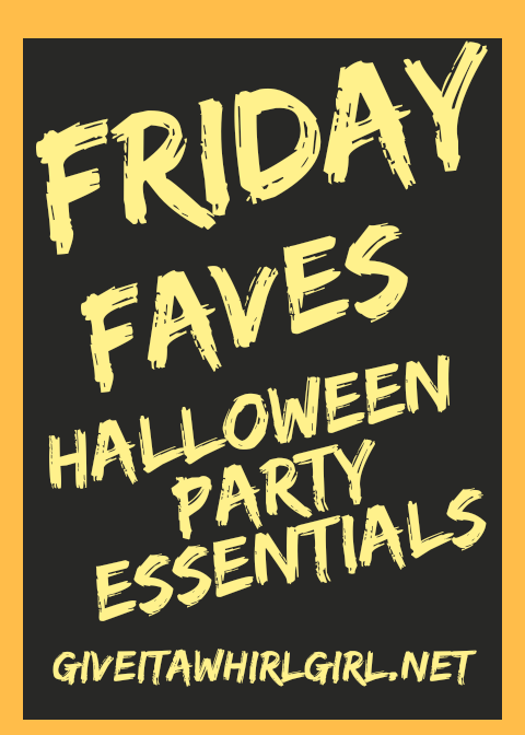 Friday Faves Halloween Party Essentials