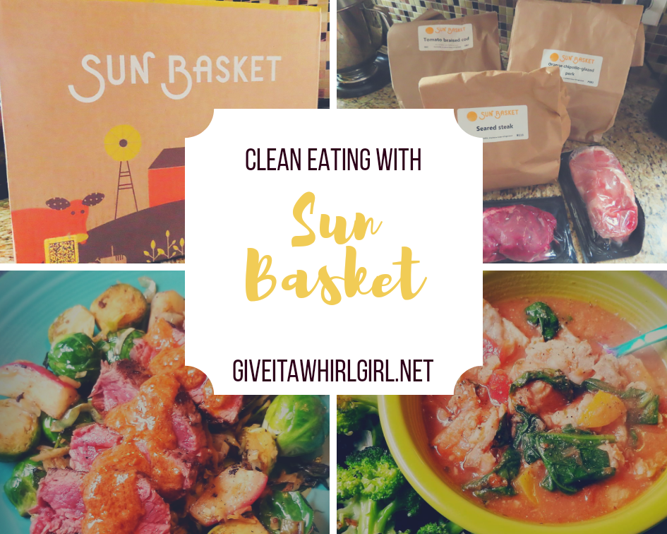 Clean Eating With The Sun Basket Meal Kit REVIEW by Give It A Whirl Girl