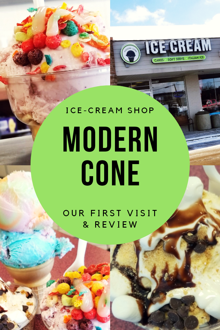 Modern Cone Ice-Cream Shop REVIEW