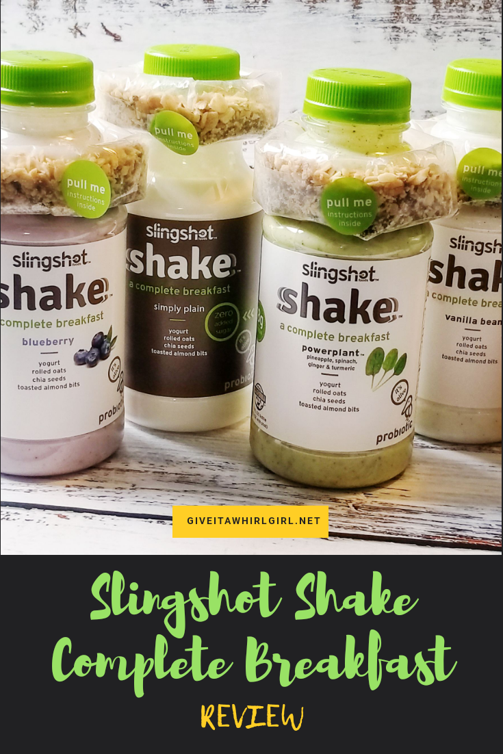 Slingshot Shakes Complete Breakfast - Drinkable Yogurt With Granola Shot - REVIEW