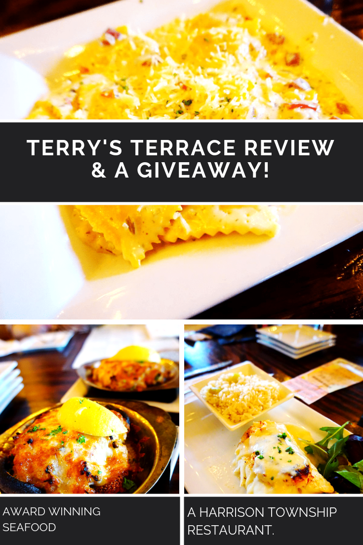 Terrys Terrace Graphic FOR GIVEAWAY 01 - My Birthday Dinner At Terry's Terrace REVIEW & Gift-Card GIVEAWAY 4 Winners! (Harrison Township, MI Restaurant)