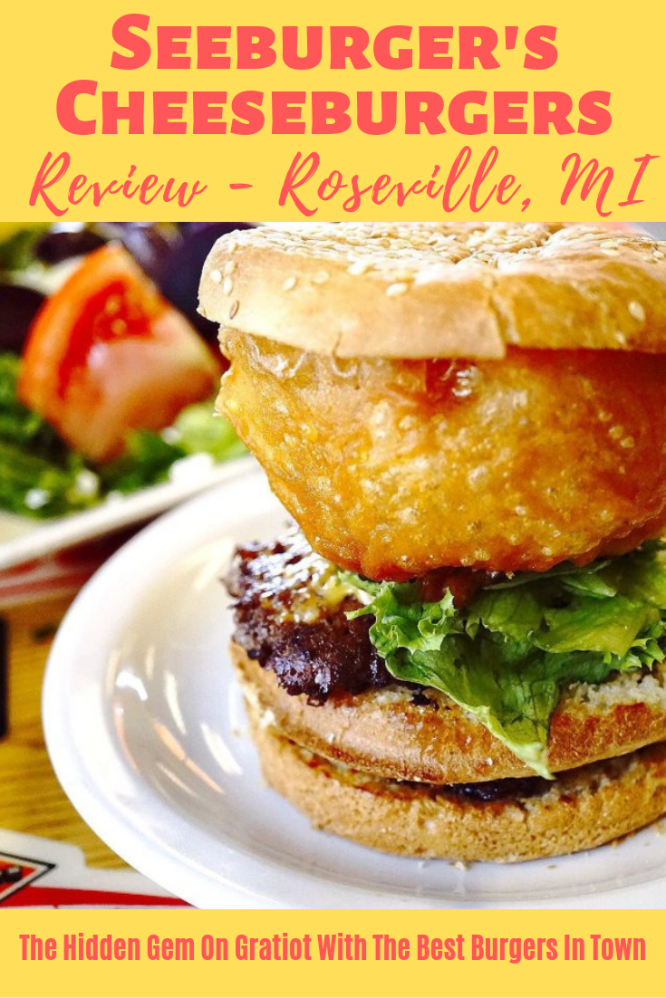 Seeburger's Cheeseburgers REVIEW by Give It A Whirl Girl - Roseville, MI Burgers and Sliders
